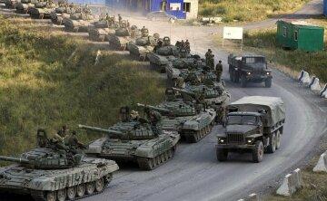 российские войска вторжение боевики танк