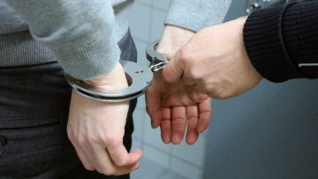 наручники, арест