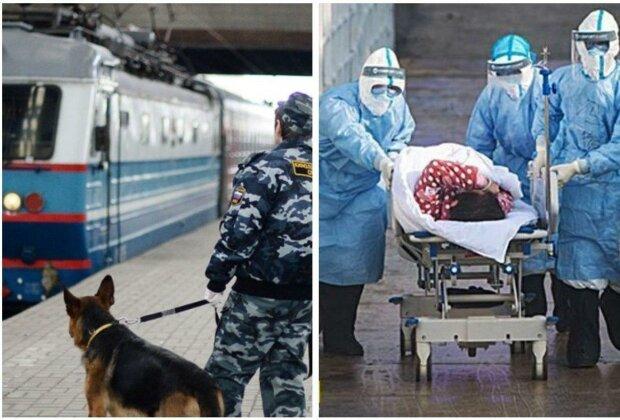 """Переполох из-за коронавируса, поезд """"Киев-Москва"""" оцепили: """"всех пассажиров..."""""""