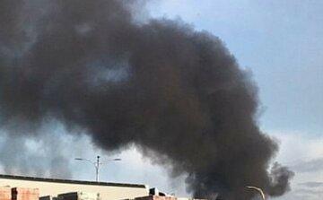 Пожежа спалахнула в столичній школі, кадри з місця НП: рятувальники кинули всі сили