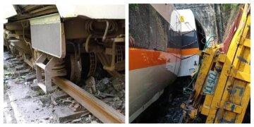 ЧП на железной дороге: сошел с рельсов поезд с пассажирами, много жертв и первые кадры