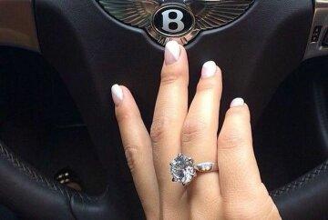 кольцо рука руль мажорка