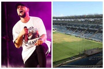 В Одессе показали, как выглядит стадион после концерта Монатика: жалкое зрелище