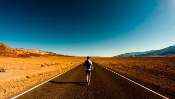 человек, дорога, путешествие
