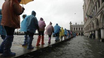 венеция потоп наводнение
