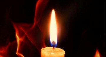 свеча, горе, трагедия, траур