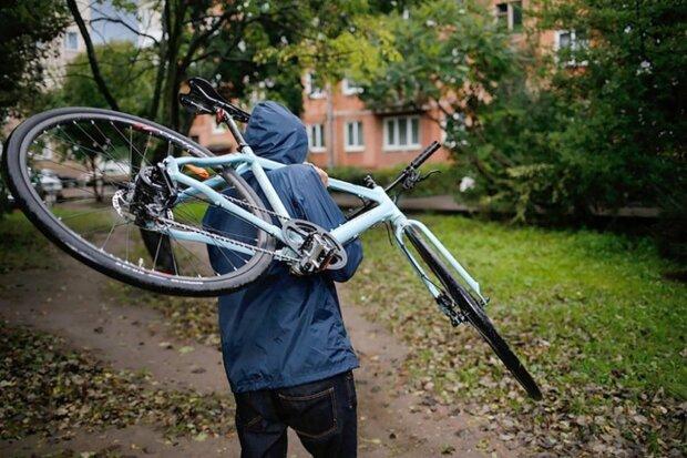велосипед, кража