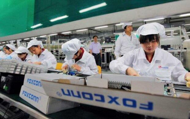 В Китае на заводе по производству iPhone произошел пожар