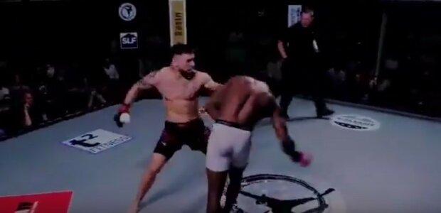 Три секунди і спати: відео блискавичного нокауту бійця ММА