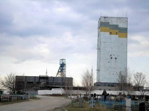 Шахта имени Засядько в Донецке