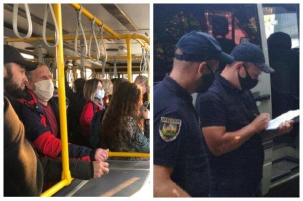 """""""У трамваях вірусу немає"""": одеситів обурили поліцейські облави на маршрутки, відео"""
