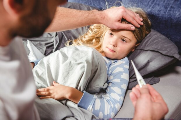 грипп, простуда, дети