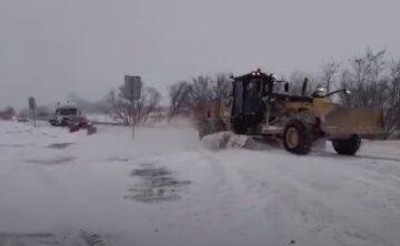 сніг, Снігоприбиральна машина
