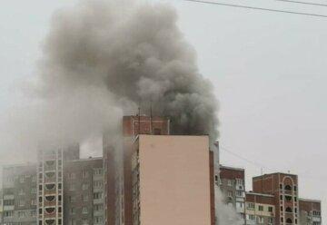 У Харкові з висотки евакуювали 18 жителів, кадри: екстрено злетілися рятувальники