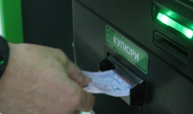 банк, термінал, гроші