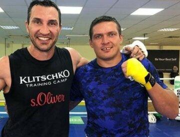 Усик і Кличко зійшлися в рингу: чим закінчився бій