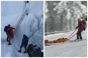 Лавина накрила групу українських альпіністів: що відомо на даний момент