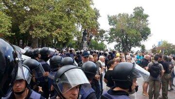 полиция, силовики, Одесса, митинг в Одессе