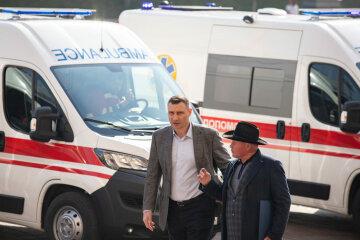 Виталий Кличко, скорые