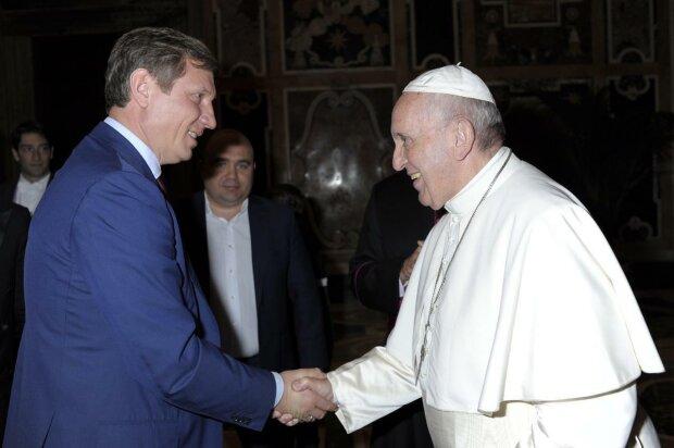 Сергей Шахов встретился с Папой Римским