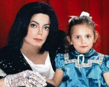 Майкл Джексон с дочерью