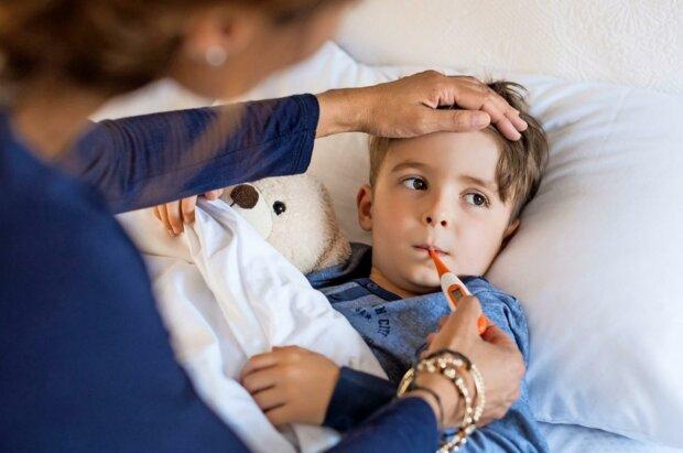 температура, дети