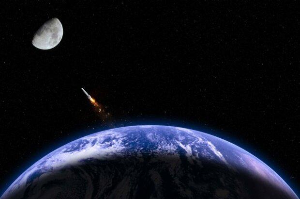 космос, ракета, спутник