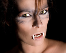 Хэллоуин, зубы, как сделать зубы для Хэллоуина, сделать зубы для Хэллоуина