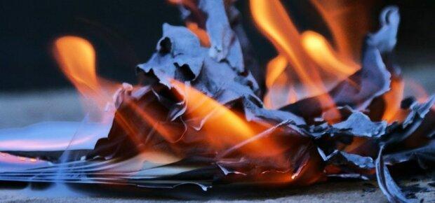 Огонь-бумага-пожар