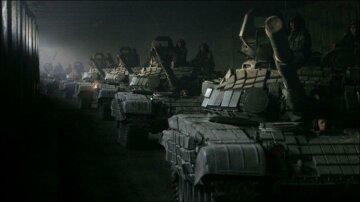 Танки РФ, вторжение, война