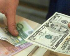 курс валют, євро, долар