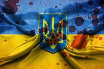 флаг украины кровь