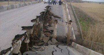 мост, обрушение