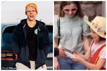 Кумир украинской молодежи отобрал у девочки подаренный iPhone: видео инцидента