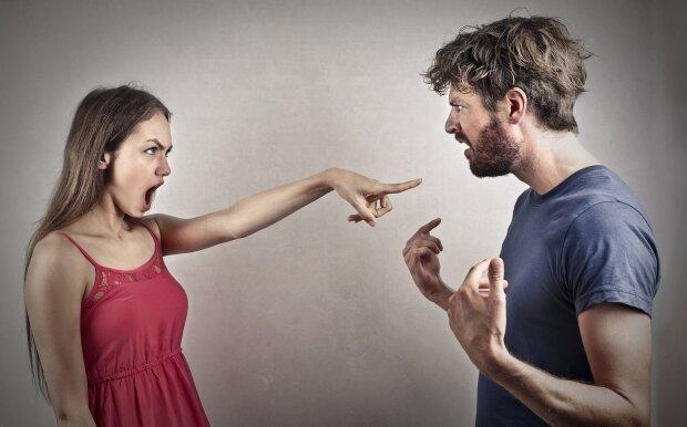 пара, ссора, скандал