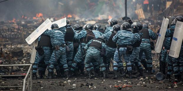 Беркут, Майдан