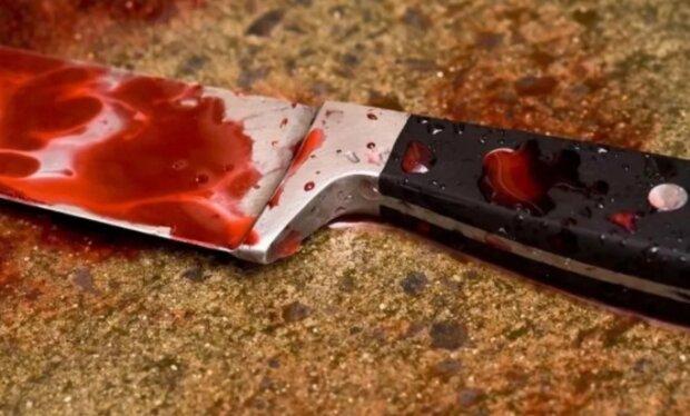 убийца,нож,кровь