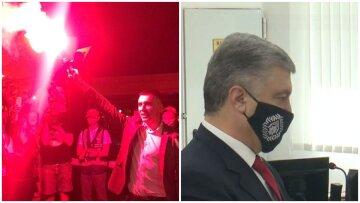 Бунт под окнами Зеленского, беда в семье Порошенко и резкий скачок доллара - главное за ночь