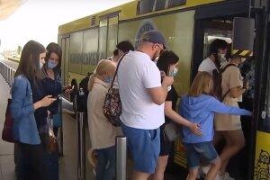 карантин маски автобус транспорт