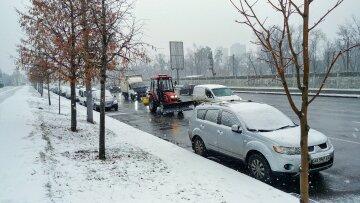 зима авто транспорт дорога сніг