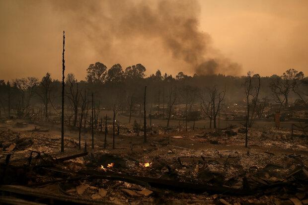 Апокалипсис, конец света, дым, пожар.
