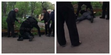 В Одесі п'яна компанія накинулася на дитину через зауваження: з'явилося відео