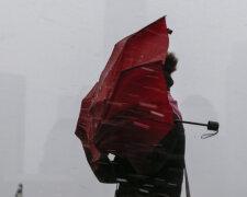 Вітер, ураган, сніг, погода, зима