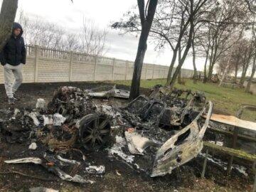 Бізнесмен загадково зник під Києвом, замішаний кримінал: «обгоріла машина, сокира і гільзи»
