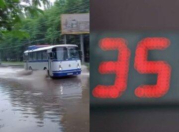 Атмосферный фронт положит конец жаре в Украине: когда ждать дождей и похолодания