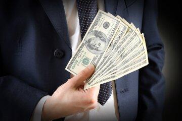 деньги, доллары, бизнесмен