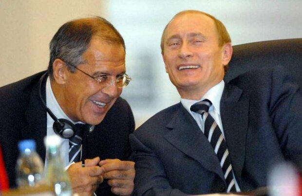 Владимир Путин Сергей Лавров