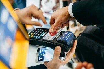 банковская карта, терминал