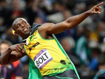 Усейн Болт бегун с Ямайки