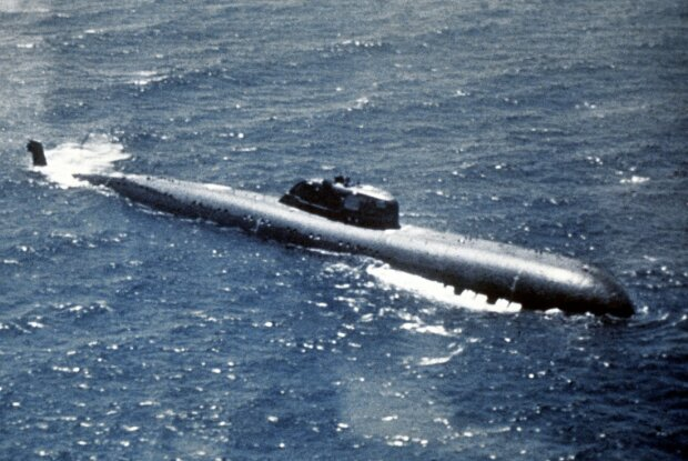атомная субмарина К-320